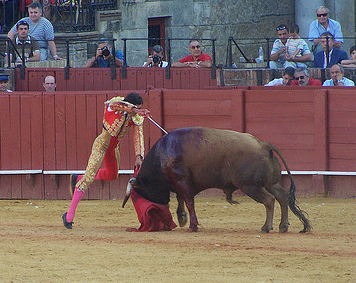 AWP Delighted as MEPs vote to end EU subsidies for Bullfighting