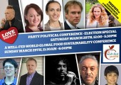 Animal Welfare Party to take part in VegFest Brighton's Political Conference March 28th