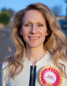 Vanessa Hudson Animal Welfare Party Leader and Candidate Holborn4